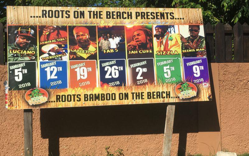 Concerts de reggae à Negril